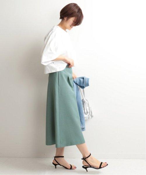 IENA(イエナ)/TAボンディングタックトラペーズスカート◆/19060900594010_img48