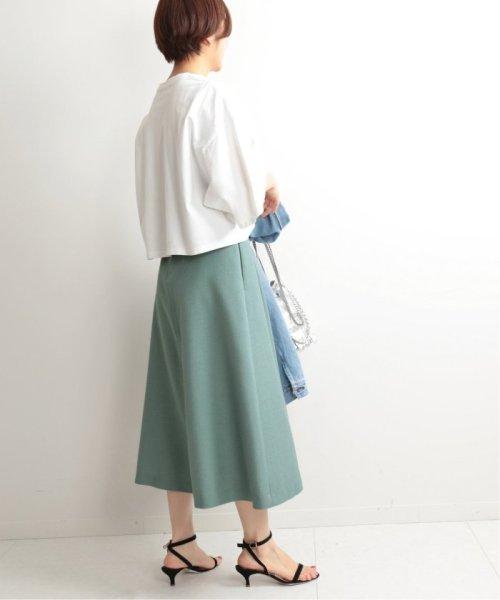 IENA(イエナ)/TAボンディングタックトラペーズスカート◆/19060900594010_img49