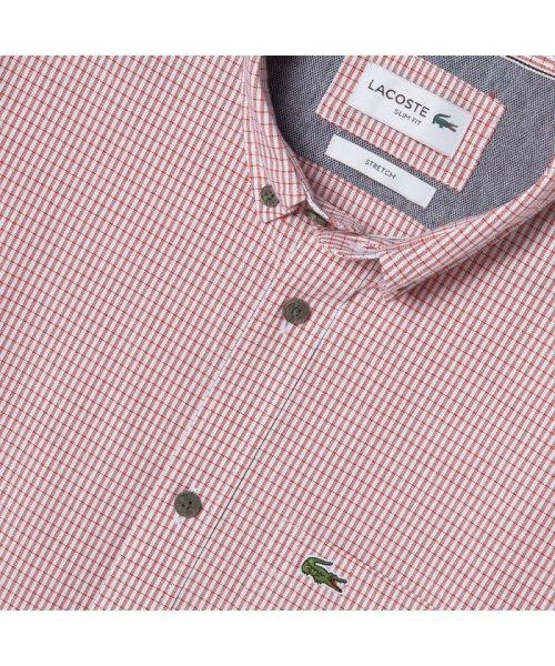 LACOSTE Mens(ラコステ メンズ)/ストレッチオックスフォードボタンダウンシャツ/CH7093L_img01