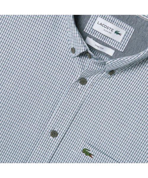 LACOSTE Mens(ラコステ メンズ)/ストレッチオックスフォードボタンダウンシャツ/CH7093L_img05