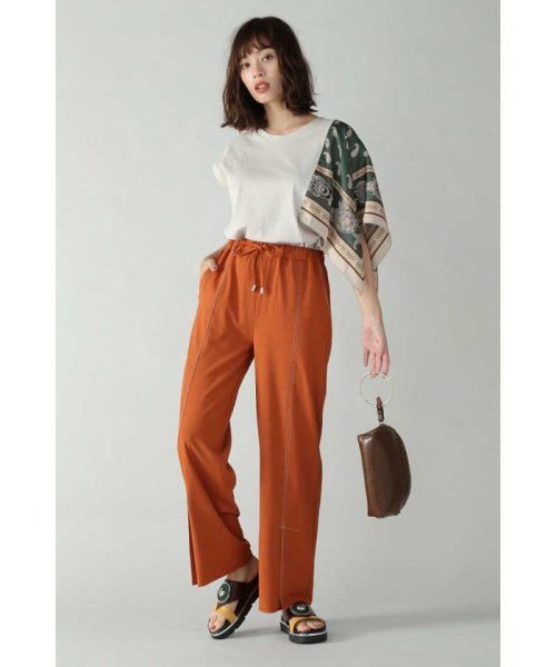 ROSE BUD(ローズバッド)/アシメトリースカーフプリント柄Tシャツ/6019213020_img12