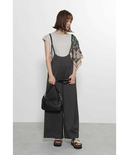 ROSE BUD(ローズバッド)/アシメトリースカーフプリント柄Tシャツ/6019213020_img16