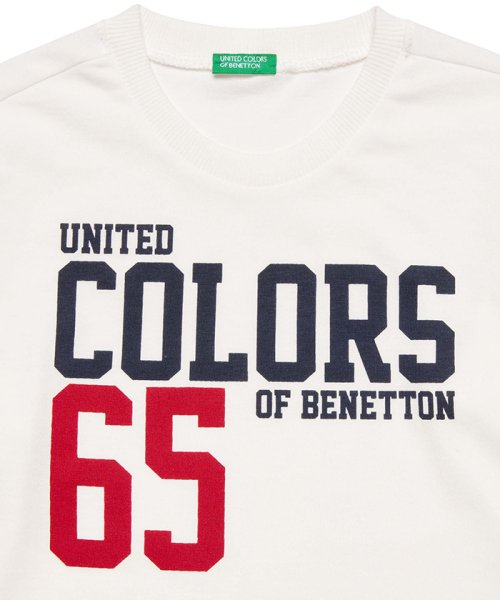BENETTON (UNITED COLORS OF BENETTON BOYS)(ユナイテッド カラーズ オブ ベネトン ボーイズ)/ベーシックロゴプリントTシャツ・カットソー/19A3YR3C14A7_img01