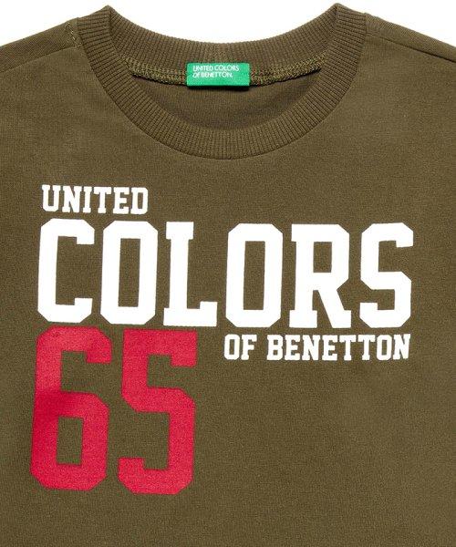 BENETTON (UNITED COLORS OF BENETTON BOYS)(ユナイテッド カラーズ オブ ベネトン ボーイズ)/ベーシックロゴプリントTシャツ・カットソー/19A3YR3C14A7_img06