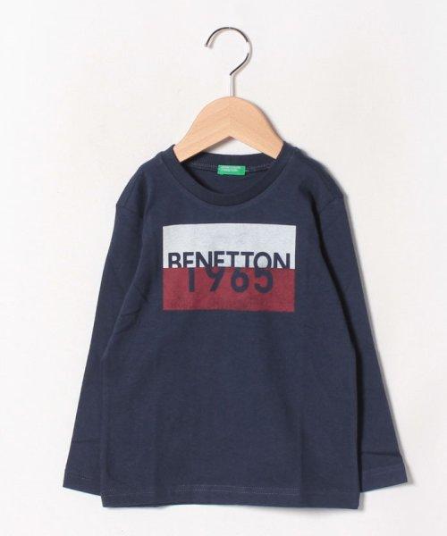 BENETTON (UNITED COLORS OF BENETTON BOYS)(ユナイテッド カラーズ オブ ベネトン ボーイズ)/ベーシックロゴプリントTシャツ・カットソー/19A3YR3C14A7_img12