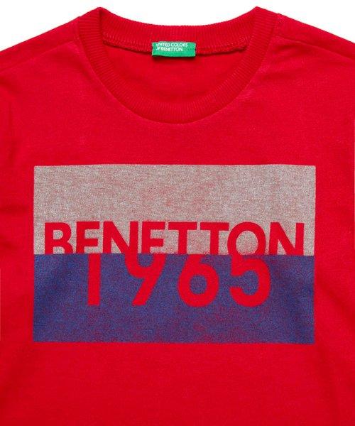 BENETTON (UNITED COLORS OF BENETTON BOYS)(ユナイテッド カラーズ オブ ベネトン ボーイズ)/ベーシックロゴプリントTシャツ・カットソー/19A3YR3C14A7_img16