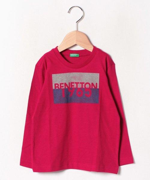 BENETTON (UNITED COLORS OF BENETTON BOYS)(ユナイテッド カラーズ オブ ベネトン ボーイズ)/ベーシックロゴプリントTシャツ・カットソー/19A3YR3C14A7_img17