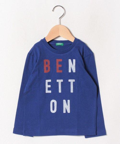 BENETTON (UNITED COLORS OF BENETTON BOYS)(ユナイテッド カラーズ オブ ベネトン ボーイズ)/ベーシックロゴプリントTシャツ・カットソー/19A3YR3C14A7_img22