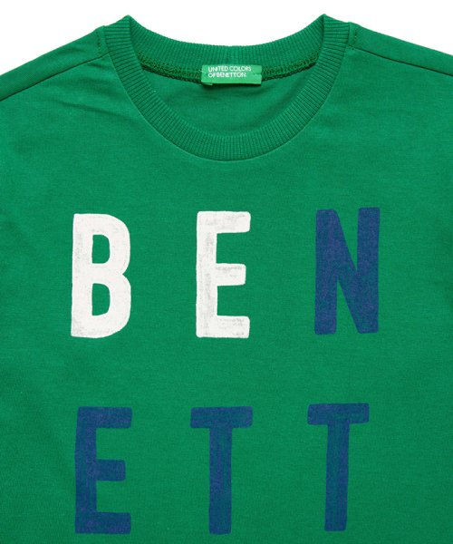 BENETTON (UNITED COLORS OF BENETTON BOYS)(ユナイテッド カラーズ オブ ベネトン ボーイズ)/ベーシックロゴプリントTシャツ・カットソー/19A3YR3C14A7_img26