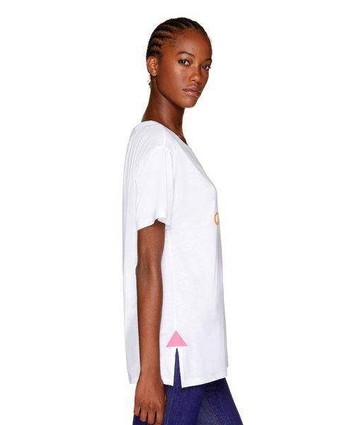 BENETTON (women)(ベネトン(レディース))/マルチカラーロゴサイドスリットポイントTシャツ・カットソー/19A3P1ZE15A0_img11