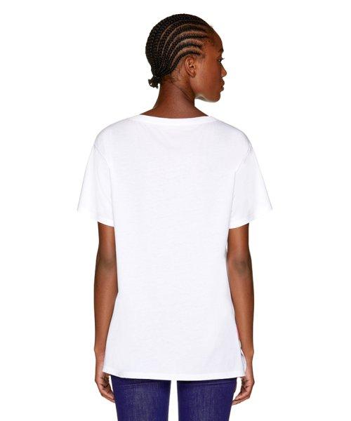 BENETTON (women)(ベネトン(レディース))/マルチカラーロゴサイドスリットポイントTシャツ・カットソー/19A3P1ZE15A0_img12