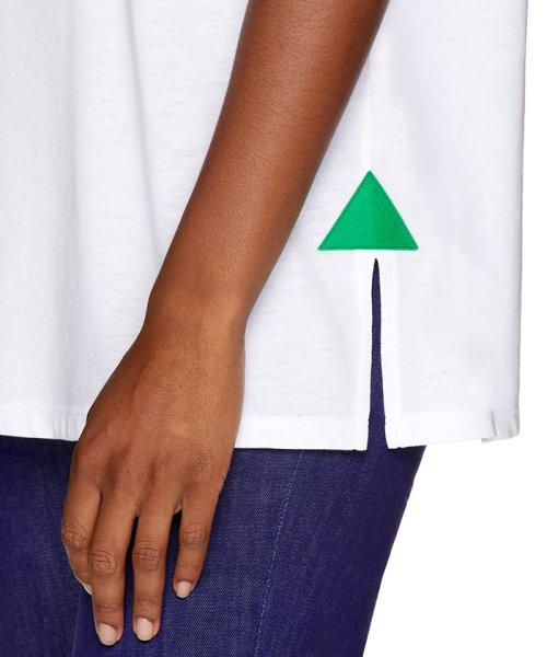BENETTON (women)(ベネトン(レディース))/マルチカラーロゴサイドスリットポイントTシャツ・カットソー/19A3P1ZE15A0_img14