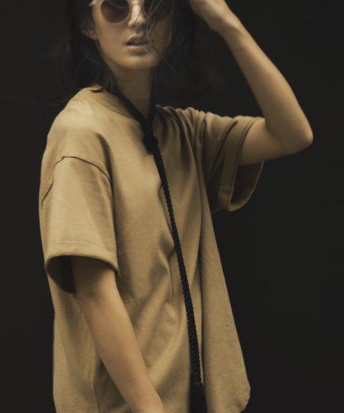 ROPE'(ロペ)/【ロープベルト付き】オーバーサイズTシャツ/GGM39430_img17