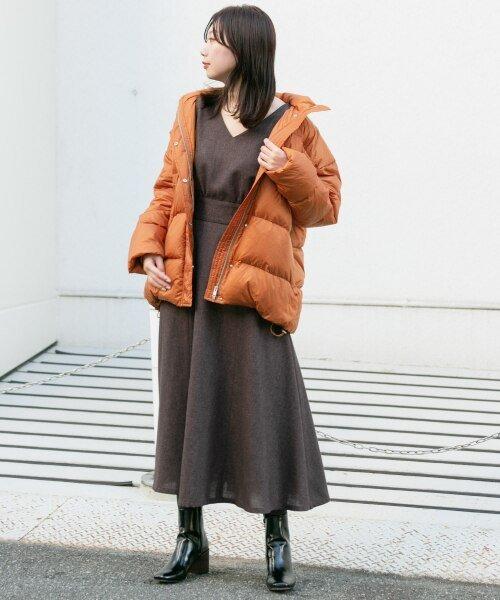 KBF(ケービーエフ)/【予約】KBF+ グリーンダウンベルトジャケット/KP97-27N120_img12