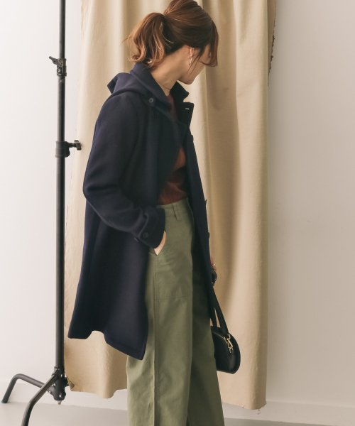 URBAN RESEARCH OUTLET(アーバンリサーチ アウトレット)/【DOORS】ショールカラー2WAYロングコート/DR8727M707_img12