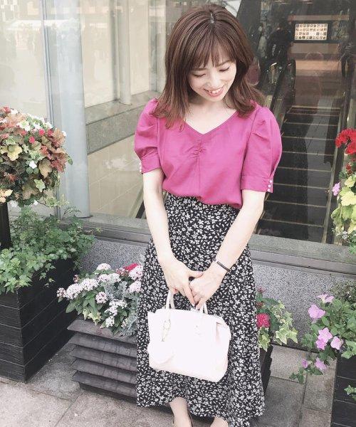 MISCH MASCH(ミッシュマッシュ)/小花柄Aラインナロースカート/850000055250391_img12