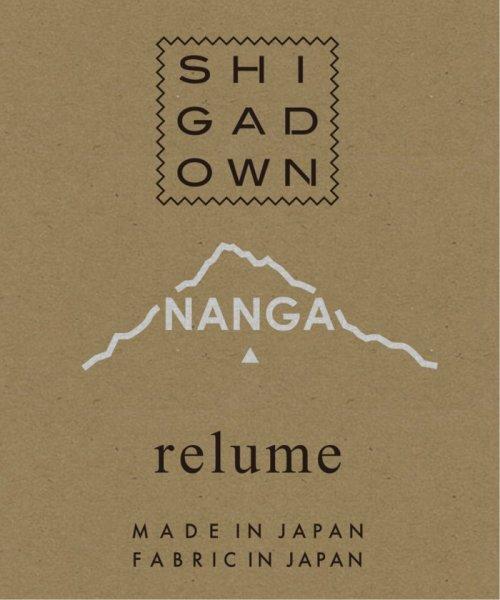 JOURNAL STANDARD relume Men's(ジャーナルスタンダード レリューム メンズ)/【19FW】SHIGA DOWN NANGA×relume / 別注AURORA-TEXダウンジャケット/19011464000030_img06