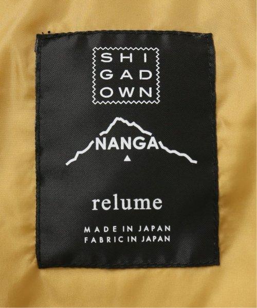 JOURNAL STANDARD relume Men's(ジャーナルスタンダード レリューム メンズ)/【19FW】SHIGA DOWN NANGA×relume / 別注AURORA-TEXダウンジャケット/19011464000030_img37