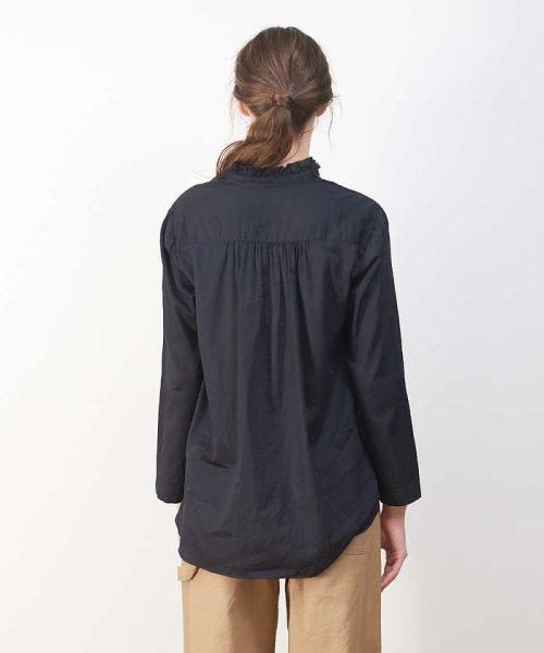 collex(collex)/綿サテンフリルシャツ【予約】/60390605004_img07