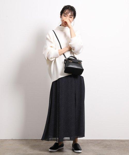 ROPE'(ロペ)/【セットアップ対応】ドットロングフレアースカート/GGC59170_img09