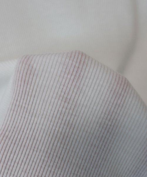 and Me...(アンドミー)/インナー付きドルマン半袖ニットソートップス/6001332_img24