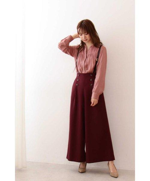 PROPORTION BODY DRESSING(プロポーション ボディドレッシング)/ギャザーサテンシャツブラウス/1219210506_img04