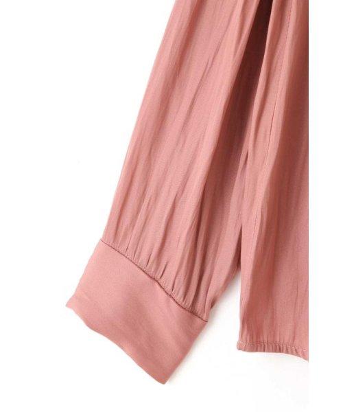 PROPORTION BODY DRESSING(プロポーション ボディドレッシング)/ギャザーサテンシャツブラウス/1219210506_img08