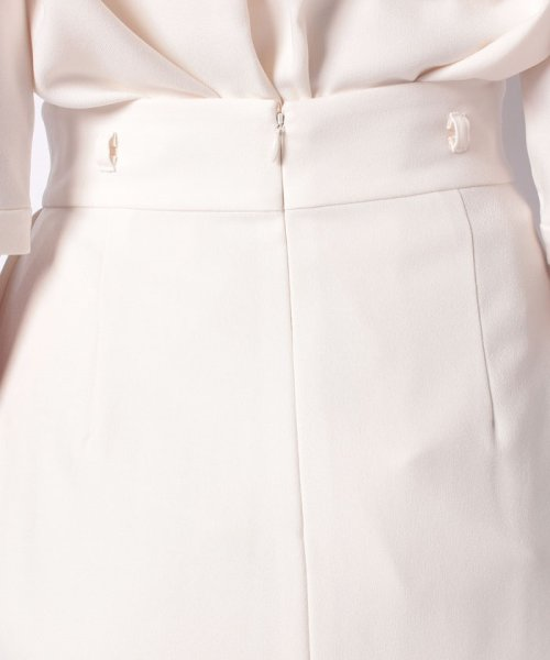 TONAL(トーナル)/【セットアップ対応商品】ベルト付アシメプリーツスカート/009220022_img12