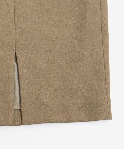 le.coeur blanc(ルクールブラン)/ポケットツキイージータイトスカート/3096044914_img04