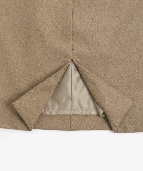 le.coeur blanc(ルクールブラン)/ポケットツキイージータイトスカート/3096044914_img06