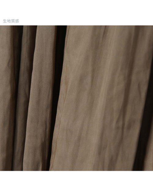 STYLE DELI(スタイルデリ)/【Made in JAPAN】V.サテンミディ丈ギャザースカートB/233404_img47