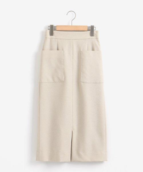le.coeur blanc(ルクールブラン)/ポケットツキイージータイトスカート/3096044914_img28