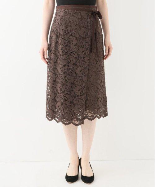 La TOTALITE(ラ トータリテ)/レースラップ風スカート/19060140592030_img05