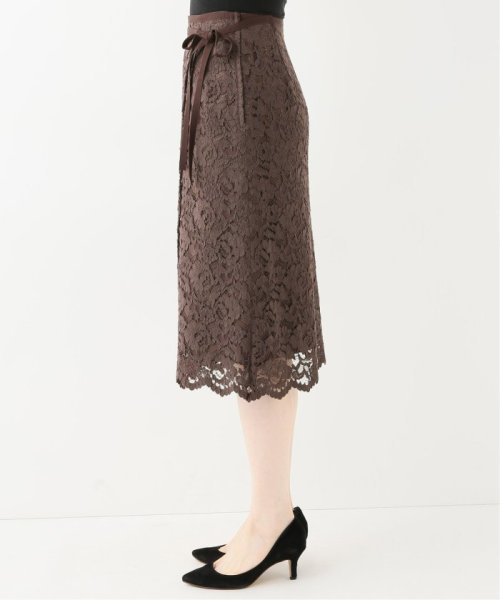 La TOTALITE(ラ トータリテ)/レースラップ風スカート/19060140592030_img06