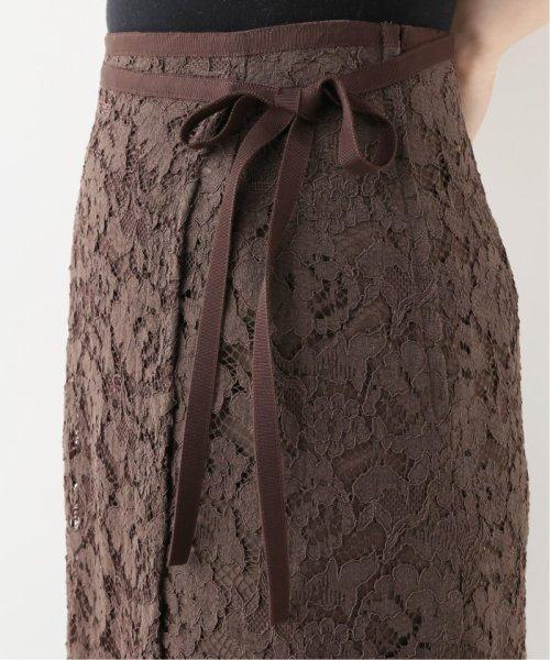 La TOTALITE(ラ トータリテ)/レースラップ風スカート/19060140592030_img11
