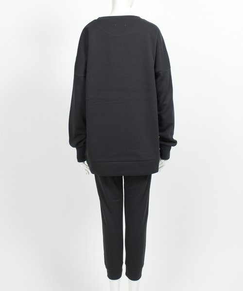 felt maglietta(フェルトマリエッタ)/裏起毛上下セット/h098_img03