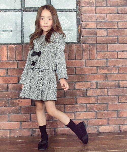 Rora(ローラ)/ツイード スカート&ジャケット 上下セット/10005406_img01