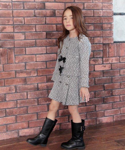 Rora(ローラ)/ツイード スカート&ジャケット 上下セット/10005406_img04