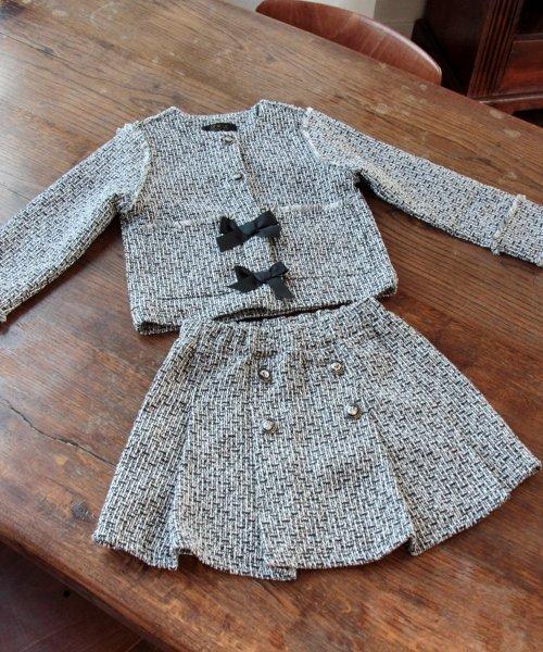 Rora(ローラ)/ツイード スカート&ジャケット 上下セット/10005406_img09