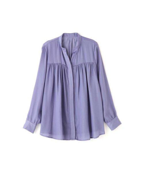 PROPORTION BODY DRESSING(プロポーション ボディドレッシング)/ギャザーサテンシャツブラウス/1219210506_img11