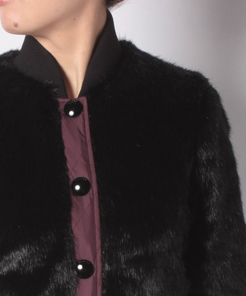 HUNTER(ハンター)/WOMENS REFINED FAUX FUR BOMBER/WRO1241WAX_img03