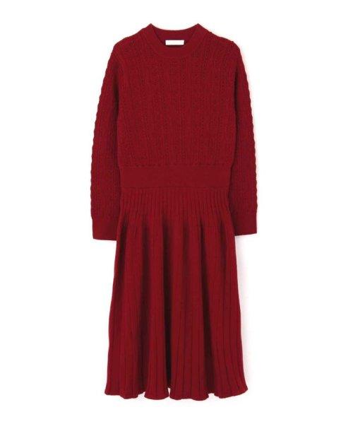 PROPORTION BODY DRESSING(プロポーション ボディドレッシング)/オータムクロシェニットワンピース/1219240010_img13