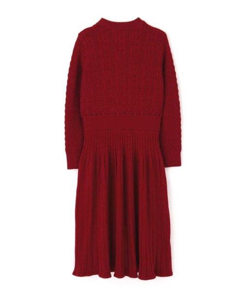 PROPORTION BODY DRESSING(プロポーション ボディドレッシング)/オータムクロシェニットワンピース/1219240010_img15