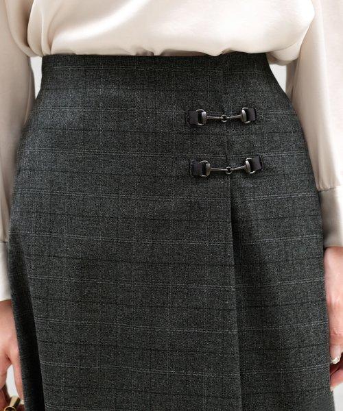 ICHIE(イチエ)/【BAILA10月号掲載】クラシカルクラブ/シネマチェック スカート/9534201_img05
