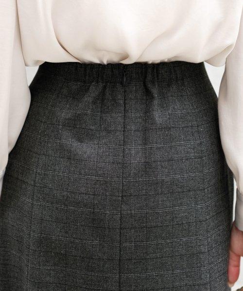 ICHIE(イチエ)/【BAILA10月号掲載】クラシカルクラブ/シネマチェック スカート/9534201_img06