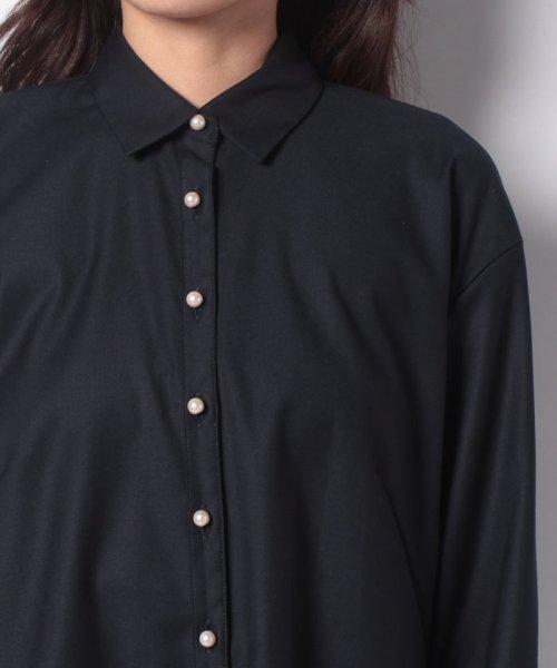 TONAL(トーナル)/【セットアップ対応商品】【TV着用】パール釦オープンシャツ/009210041_img26