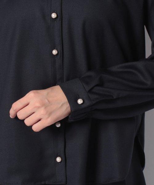 TONAL(トーナル)/【セットアップ対応商品】【TV着用】パール釦オープンシャツ/009210041_img27
