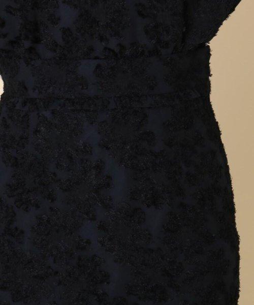 Couture Brooch(クチュールブローチ)/【WEB限定サイズ(LL)あり/手洗い可】カットジャガードミモレ丈スカート/20190250877006_img04