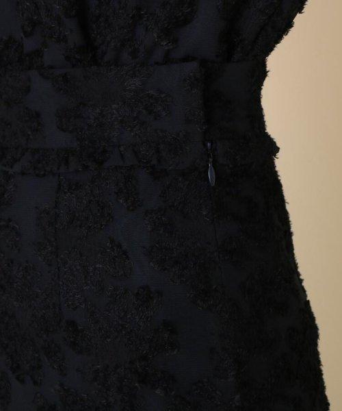 Couture Brooch(クチュールブローチ)/【WEB限定サイズ(LL)あり/手洗い可】カットジャガードミモレ丈スカート/20190250877006_img05