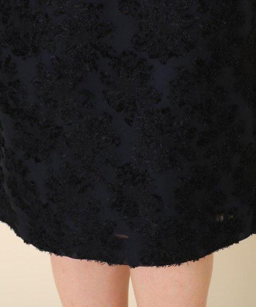 Couture Brooch(クチュールブローチ)/【WEB限定サイズ(LL)あり/手洗い可】カットジャガードミモレ丈スカート/20190250877006_img06